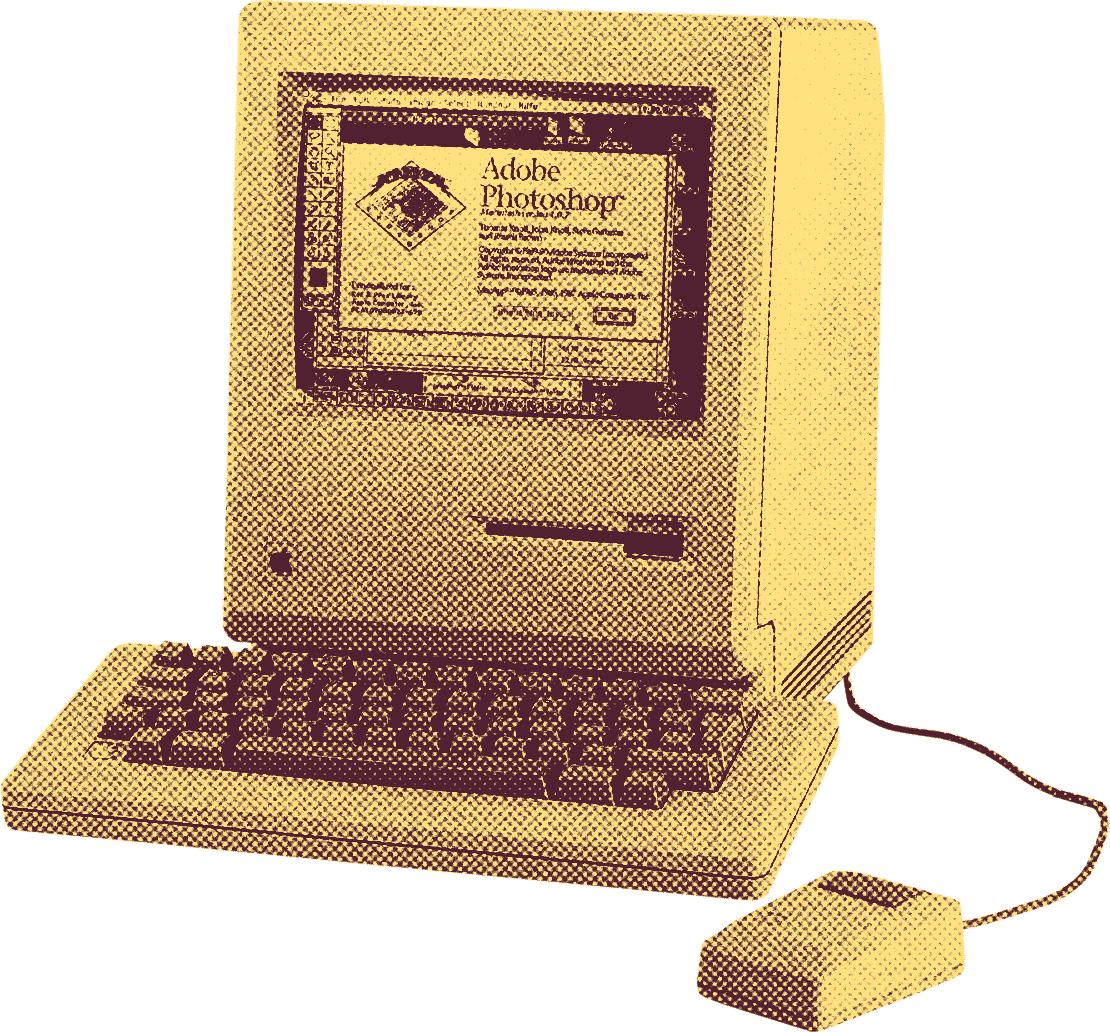 Le Macintosh SE a démocratisé la création graphique sur ordinateur